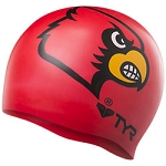 TYR University of Louisville Graphic Silicone Cap
