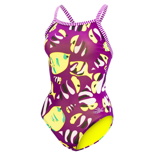 921cdc61d2919 Home   Swimwear   Women s   Dolfin Uglies   Womens Uglies Fish Tales V-2  Back One Piece