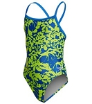SPEEDO Pro LT Flowerista Flyback One Piece Swimsuit - Youth
