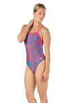 SPEEDO Pro LT Flowerista Flyback One Piece Swimsuit - Adult