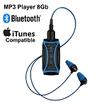 H2O Audio Stream  Waterproof MP3 Player and Underwater Headphones - Short Cord Combo, 8GB
