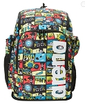 Arena Team 45 Allover Print Backpack