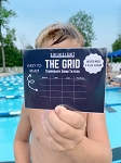 The Grid - Temporary Swim Tattoo