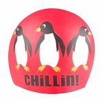 Chillin Silicone Swim Cap