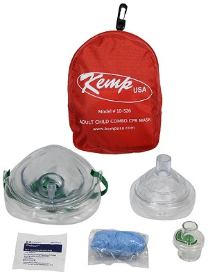 Kemp Adult/Child Combo CPR Mask