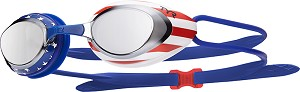 TYR Black Hawk Racing Mirrored USA Performance Goggle