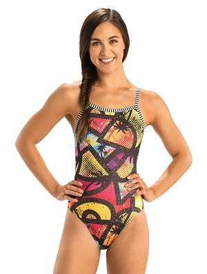 Dolfin Uglies Beauty and the Beach V-2 Back One Piece