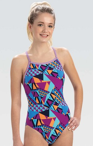 Dolfin Uglies Carnival V-2 Back One Piece