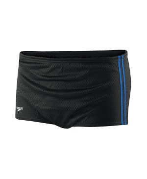 Speedo Mesh Poly Square Leg - 4 Colors