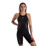 Speedo LZR Pure Intent Open Back Kneeskin - Black