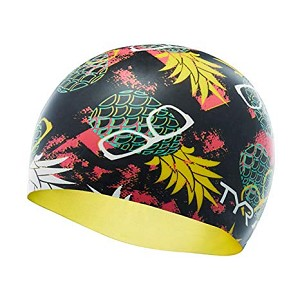 TYR Pineapple Man Silicone Cap